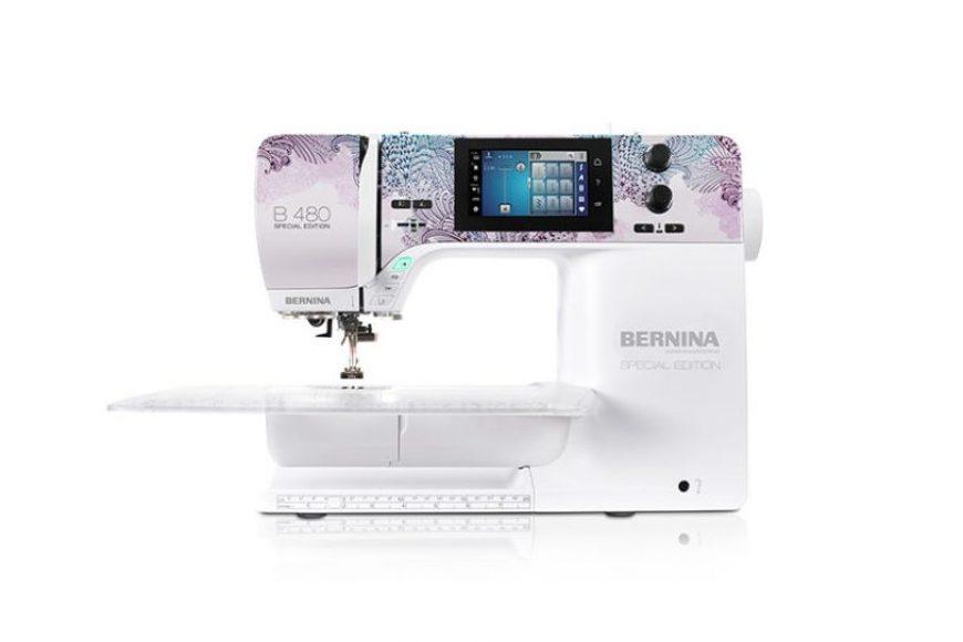 Bernina 480 Special Edition | Macchina per cucire con nuova texture!